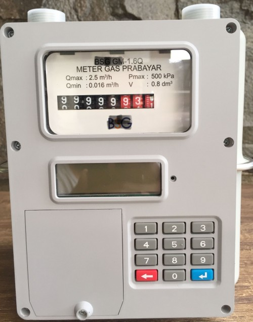 Engineering Telekomunikasi Elektronika Energy Prepaid Gas Meter